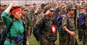Communist Party of Nepal Maoist guerrillas
